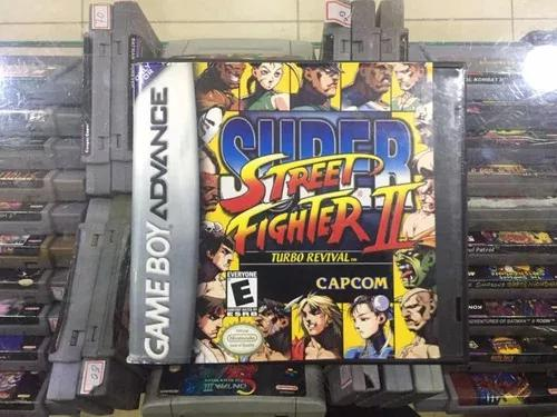 Super street fighters 2 - gba original na caixa