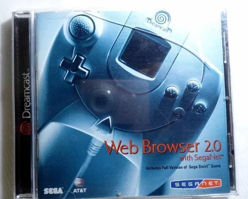 Web browser 2.0 sega net dreamcast original