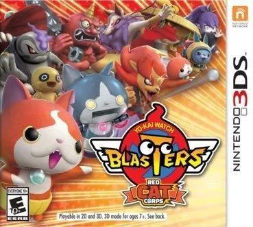Yo-kai watch blasters: red cat corps - nintendo 3ds 2ds