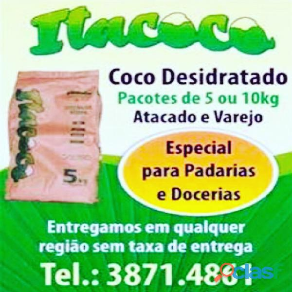 Distribuidora de coco ralado desidratado itacoco