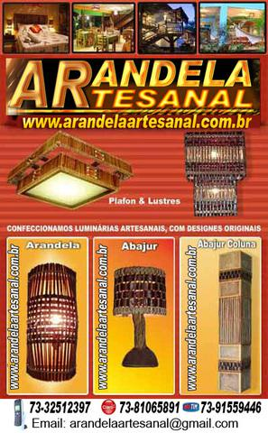 Luminarias artesanais da bahia