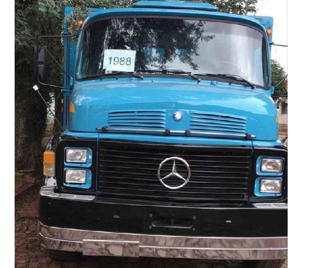 Mb 1518 truck carroceria graneleira raridade 88