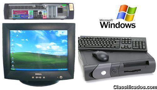 Vendo computador dell optiplex p4 2.8 1gb de ram com monitor