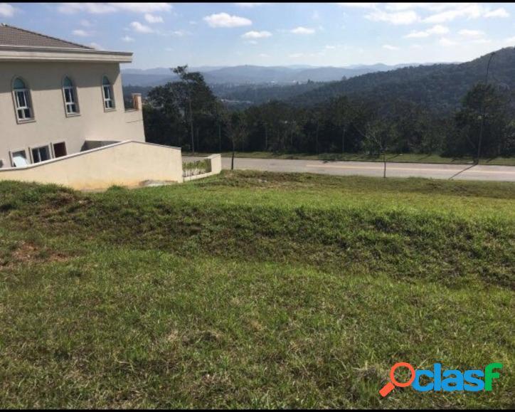 Terrenos condomínio fechado em alphaville para venda com 490m²