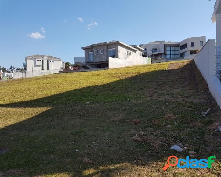 Terreno para venda, condomínio tamboré com 555m²