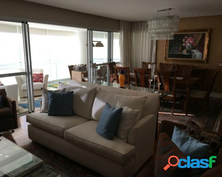 Apartamento em alphaville, 264m², 4 suítes