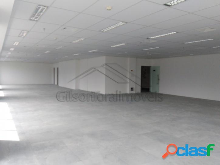 Locação sala comercial alphaville, 240m²