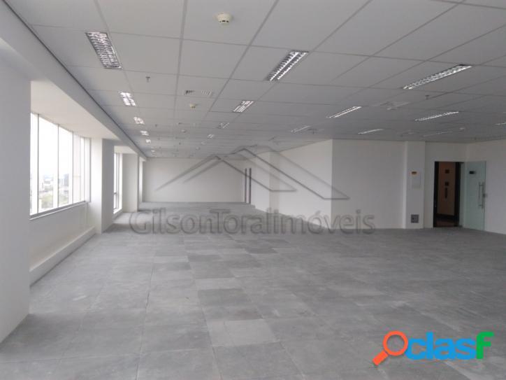 Sala comercial em alphaville com 240m², excelente localização