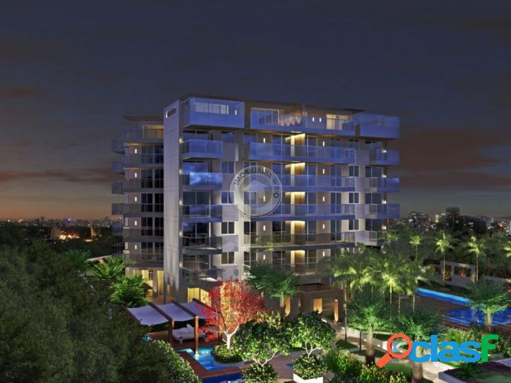 Apartamento 82m², 2 quartos, condomínio Mirage - Av. do Pepê