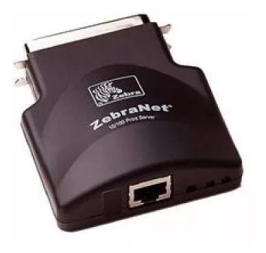 Adaptador de rede externo zebra zebranet 10/100 pn: g47490