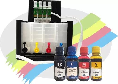 Bulk ink para epson xp411 xp214 xp204 xp401 c tinta corante