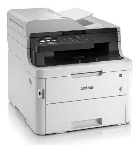 Impressora brother laser multifun duplex color mfc-l3750cd