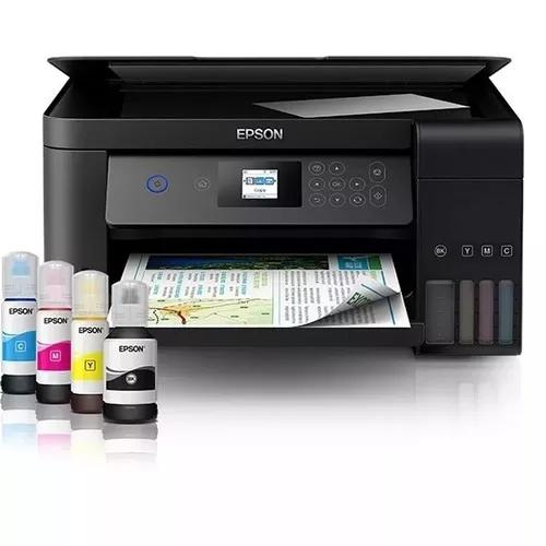 Impressora copiadora epson ecotank l4160 wifi duplex correio