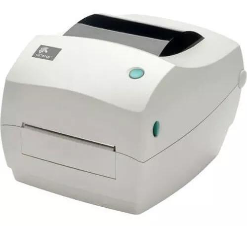 Impressora de código de barras gc420t zebra c/nf