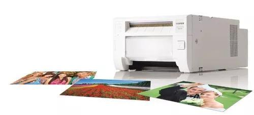Impressora de fotos termica + 2 kit ribon ask300