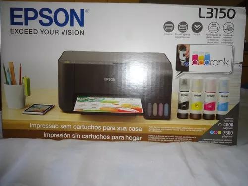 Impressora epson l3150 tank ótima p/sublimação canecas