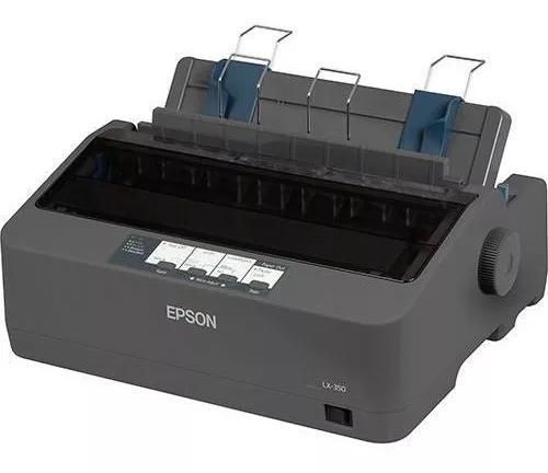 Impressora epson matricial lx350 110v 1 ano de garantia + nf