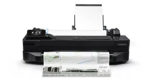 Impressora hp designjet t120 plotter color wireless - nfe