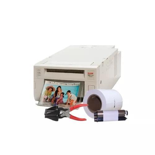 Impressora kodak 305 com 320 fotos + cortador foto 3x4