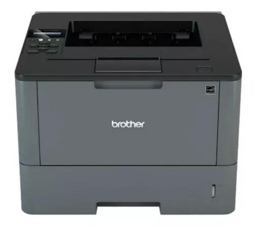 Impressora laser brother hll5102dw 110v preta wireless velo