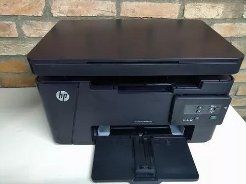 Impressora multifuncinal hp laserjet m125a revisada cf283a