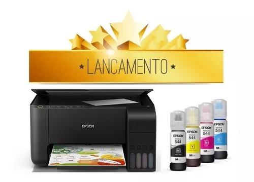 Impressora multifuncional epson ecotank l3150 wi-fi bivolt