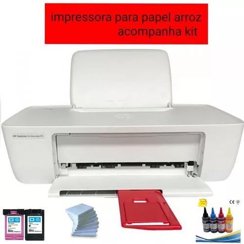 Impressora para tinta comestivel papel arroz + kit