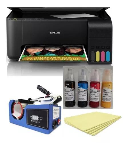Kit para sublimação prensa de caneca + multifuncional