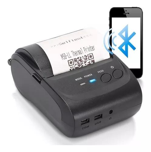 Mini impressora portátil bluetooth térmica 58mm bluetooth