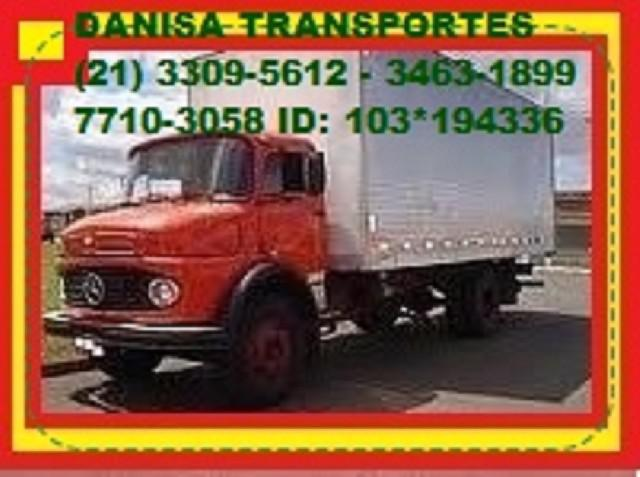 Mudanças caminhão 3309-5612 padre miguel realengo