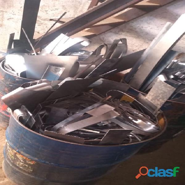 Compro sucatas de ferro, aço, aluminio, bronze, chumbo, antimonio etc.