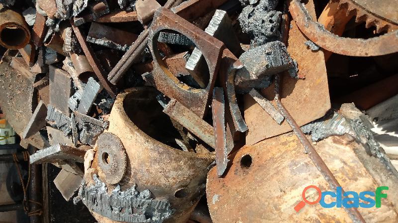 Compro Sucatas de ferro, aço, aluminio, bronze, chumbo, antimonio etc. 3