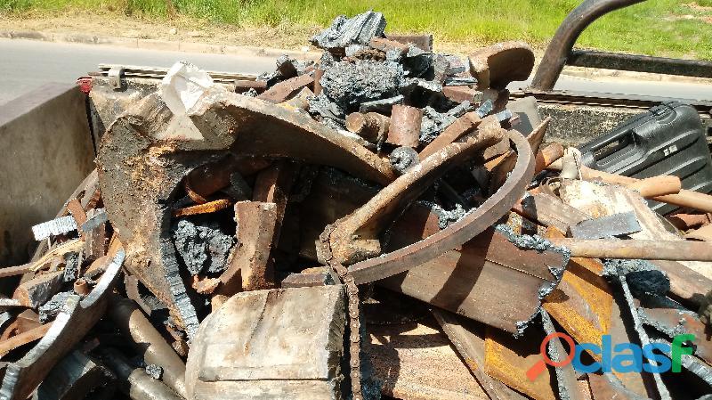 Compro Sucatas de ferro, aço, aluminio, bronze, chumbo, antimonio etc. 2