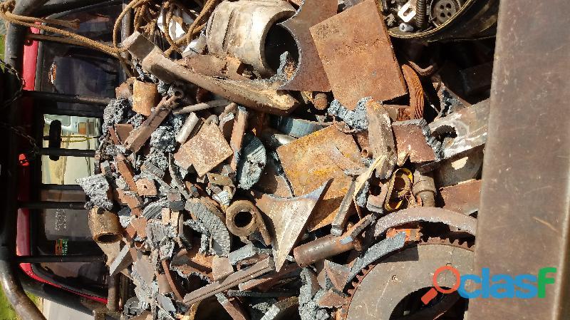 Compro Sucatas de ferro, aço, aluminio, bronze, chumbo, antimonio etc. 1