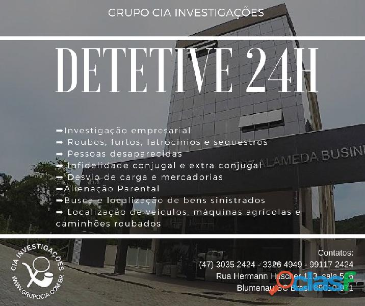Detetive particular 24h   brasil e exterior