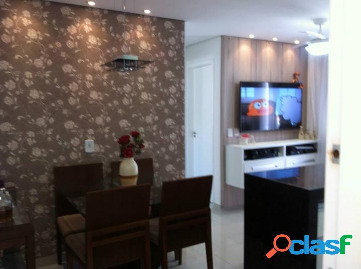 Apartamento novo em votorantim - residencial villa flora