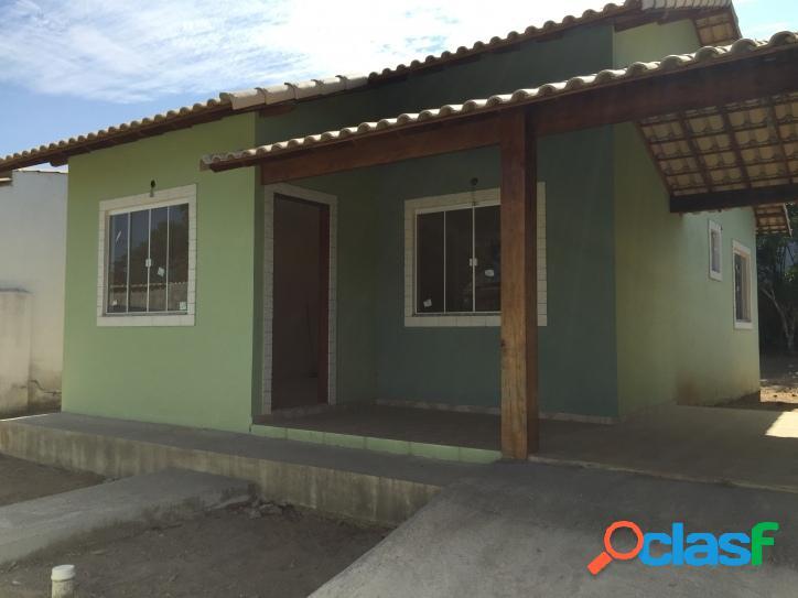 Casa nova 2 quartos a 2 km da praia em iguaba grande
