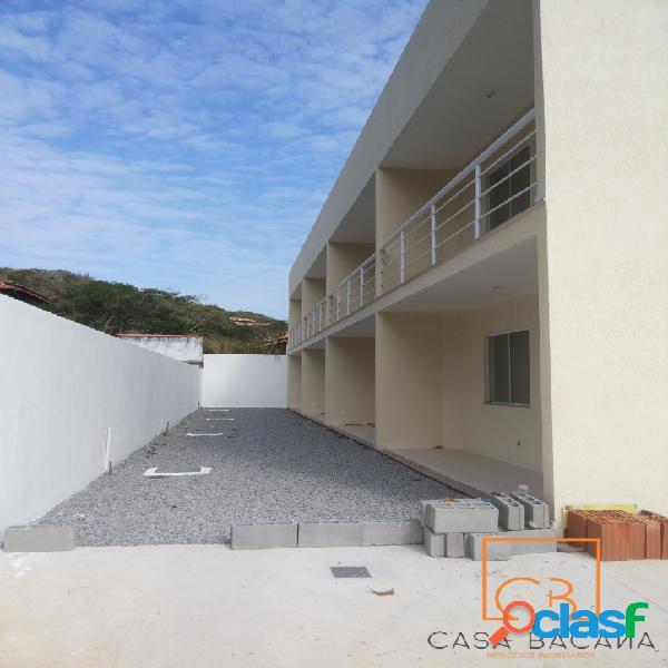 Ótima casa duplex na ponta da areia