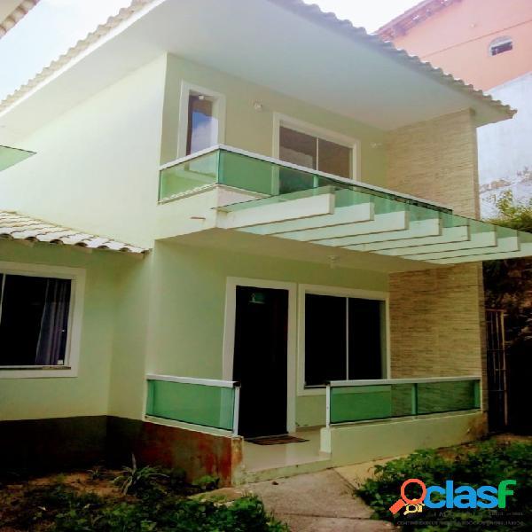 Casa aluguel fixo 03 qtos duplex condomínio ogiva cabo frio
