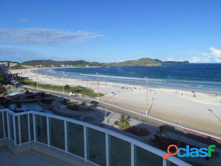 Maravilhosa cobertura, alto padrão, duplex, pé na areia, fre 1