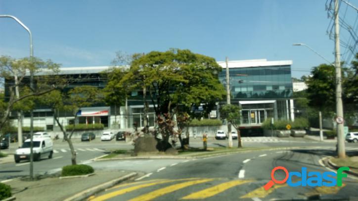 Andar comercial para locação em alphaville alameda araguaia