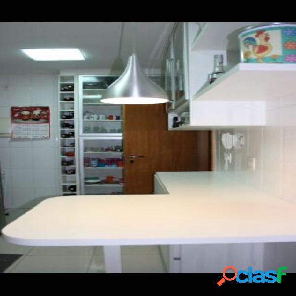 APARTAMENTO A VENDA NO CONDOMÍNIO RESORT TAMBORÉ Alphaville 3 dormitórios