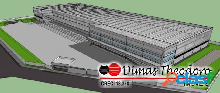 Aluga-se / vende-se galpão novo monousuário (9.088 m²) cotia