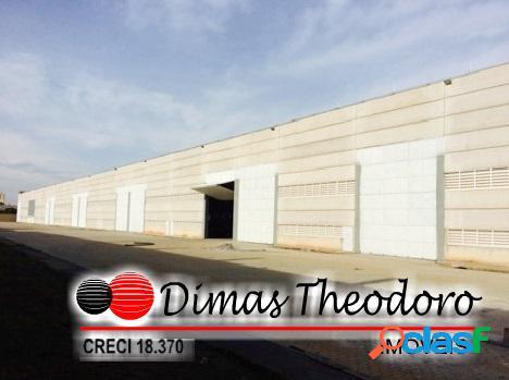 Locação galpão excelente industrial - sp (32.600 m²)