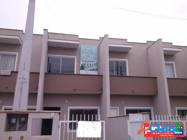 Casa geminada 02 dormitórios, venda direta caixa, bairro jarivatuba, joinville, sc, assessoria gratuita na pinho