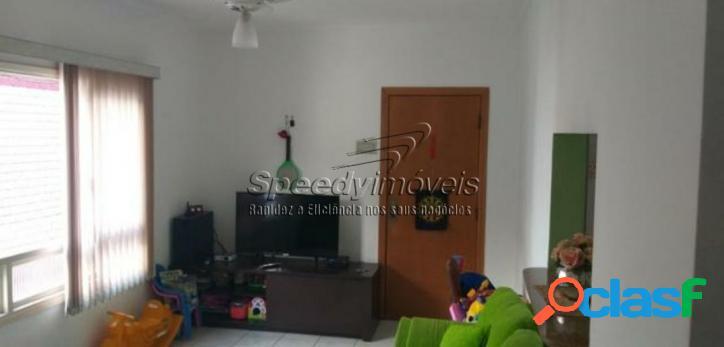 Apartamento em Santos 2 dormitórios, 1 vaga demarcada. 3