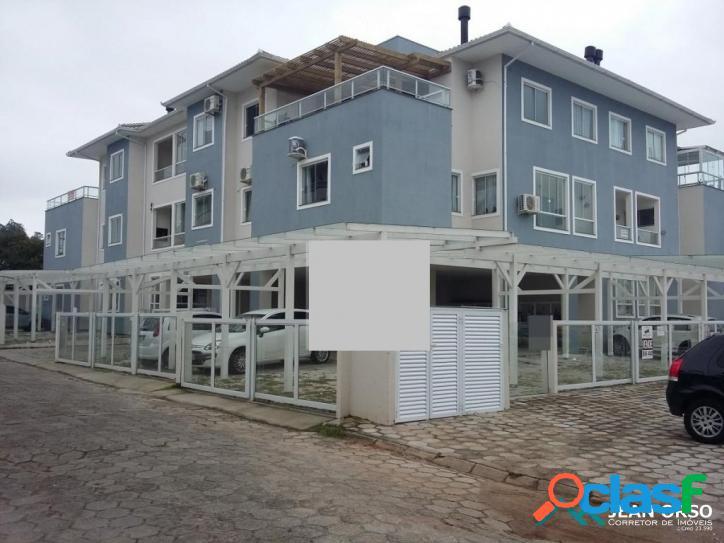 Apartamento com espaço externo privativo
