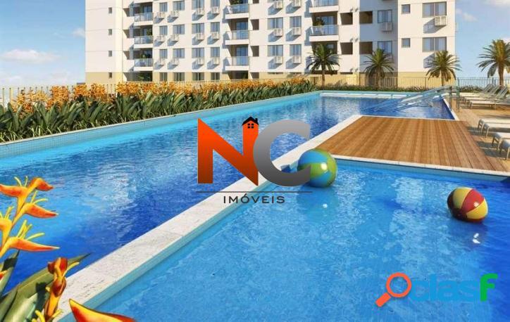 Nobre Norte Clube Residencial, Apartamento com 2 e 3 dorms, - R$ 406 mil.