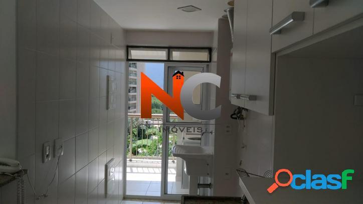 Apartamento com 2 dorms, jacarepaguá, rio de janeiro - r$ 560.000,00, 76,39m² - codigo: 553