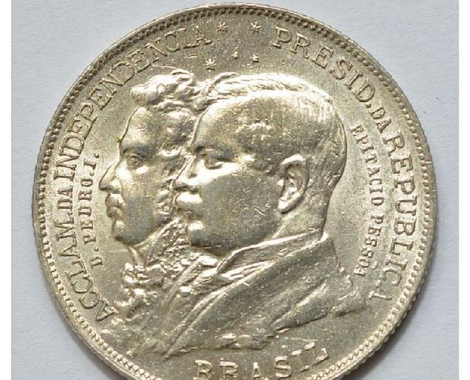 COMPRO MOEDAS DE PRATA DE 1922 ATÉ 1938 PAGO R$300,00 O Kg